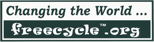 Changing the World... freecycle.org